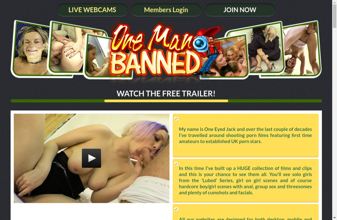 One eyed jack movies uk porn